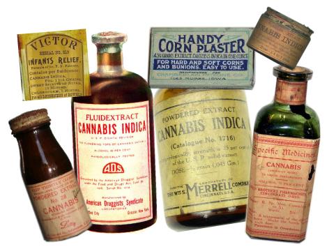Propiedades medicinales del Cannabis, sin fumar.