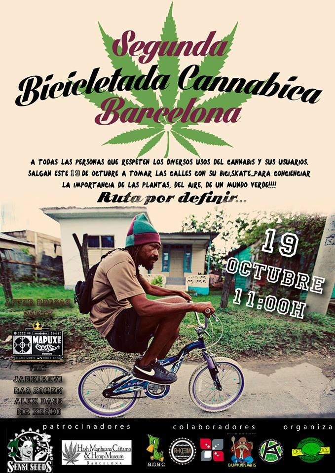 2da Bicicletada Cannabica Mundial (Barcelona)