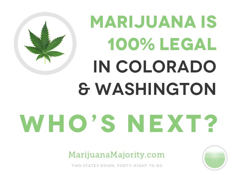 Colorado y Washington, se preparan para vender marihuana.