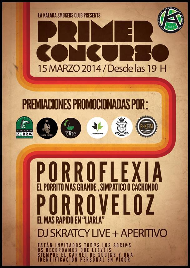1º Concurso Porroflexia y Porroveloz en Asociación La Kalada
