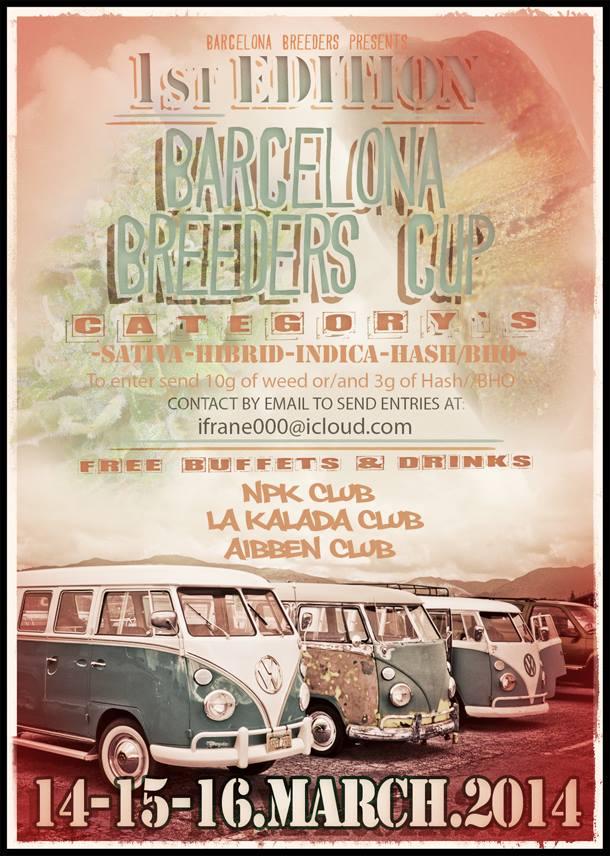 Barcelona Breeders Cup – 1ª Edición – 14-15-16 Marzo 2014