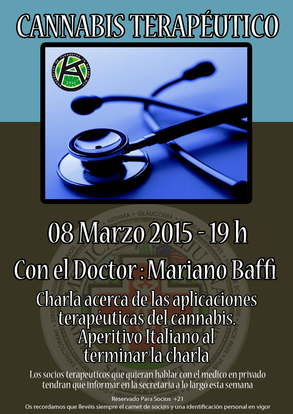 Charla Sobre Cannabis Terapéutico